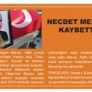 TEMÜDDER İstanbul Şube Üyemiz Necdet MENZİR Vefat Etti