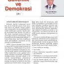 Güvenlik ve Demokrasi (II)
