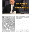 Risk Yönetimi ve Halkla İlişkiler