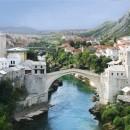 Mostar Şehri,Köprüsü ve Osmanlı Köyü Poçitel