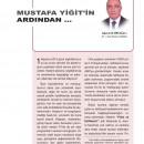 Mustafa Yiğit'in Ardından