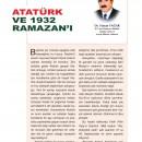 Atatürk ve 1932 Ramazan'ı