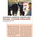 Kayseri Emniyet Müdürlüğü Sıcak Yuvam Projesi
