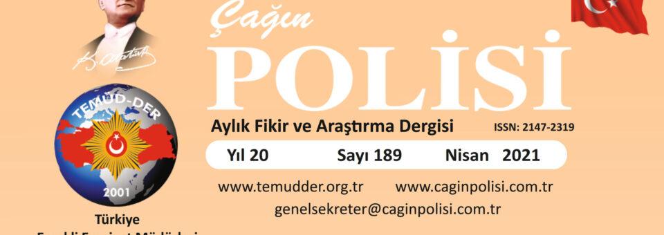 Çağın Polisi Dergisi – Sayı 189