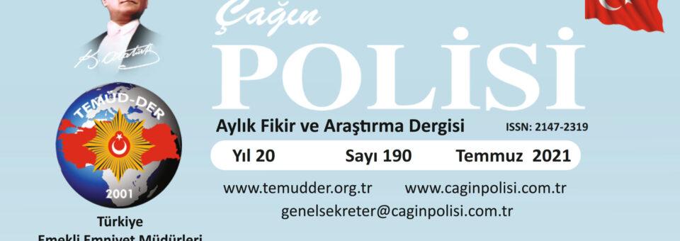 Çağın Polisi Dergisi – Sayı 190